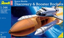 Space Shuttle Discovery &Booster REVELL 04736