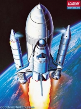 modellismo statico academy Space Shuttle Booster  in scala 1:288 ac1639