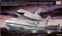 Space Shuttle & Boeing 747 Carrier  scala1:288 modellismo statico