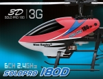 elicottero radiocomandato nine eagles solo por 180D 3D RTF con radiocomando in more2 reversibile in mode1
