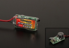 voltage detector 3s 8s con allarme buzzer e led
