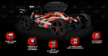 Corally PYTHON  XP 6S 1/8 MT SWB RTR 6S BUGGY