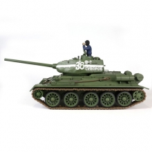 Carro Armato RC RS CARRO T34/85 Soviet Medium Tank RC Scala 1:24