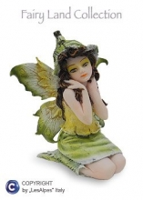 042-273 Fata piccola seduta altezza 8 cm Fairy Land Collection