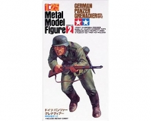 Tamiya 89625 German Panzer Grenadier w/Rifle Metal Model Figure 1:25