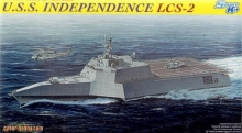 U.S.S. Independence LCS-2 Dragon 7092 1:700