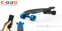 Skateboard E-GO2 Brushless colore Royal Wave