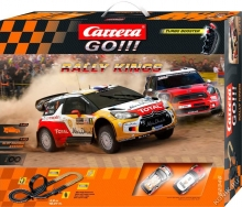 CARRERA 62346 1:43 Rally King  pista con macchinine