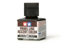 Prime Tamiya 40ml Panel Line Accent Color Dark Brown (40 ml).