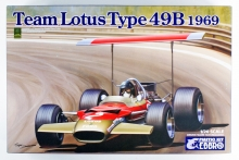 EBBRO 20005 Team Lotus Type 49B 1969 1:20
