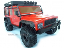 Monster Truck Crawler ROSSO BF-4J 1/10 elettrico a spazzole Off-Road 2.4Ghz 4WD RTR VRX
