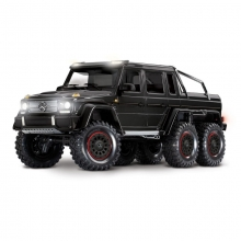 Mercedes-Benz G 63 AMG 6x6 Trail Crawler con Kit Luci-Nero TRAXXAS TRX-6 Black