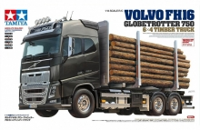 camion tamiya 56360 Volvo FH16 Globetrotter 750 6x4 timber truck 1:14