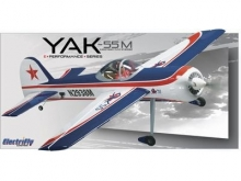 Yak 55M 50 EP 1,3 mt ARF GPMA1186 ElectriFly by Great Planes introvabile