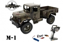 DF-Models Starter Line M1 Military Truck 4WD brushed 2.4GHz RTR 1:12