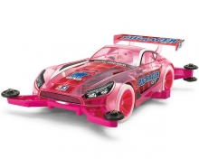 Mini4WD TAMIYA 95480 Pro Pig Racer GT Pink MA Chassis
