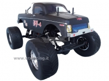 Monster Truck Crawler BF-4 scala 1:10 elettrico a spazzole Off-Road 2.4Ghz 4WD RTR NERA