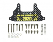 Supporto freno posteriore Carbon 1,5 mm Japan Cup 2020 Mini4WD Tamiya 95133