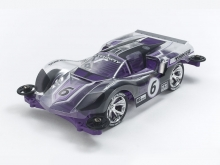 Mini4WD Exflowly Corpo in policarbonato speciale (viola) (MS) TAMIYA 95571