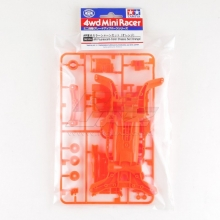 ricambi mini4WD Tamiya 95316 AR Fluorescent Orange Chassis
