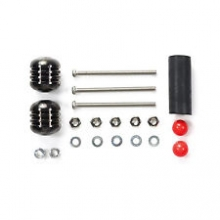 ricambi mini4WD Tamiya 95340 Mass Damper Set (Heavy, Black)