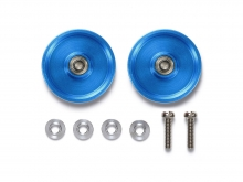 Rotelle blu 19 mm. senza anello. Tamiya 95561