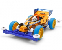 Mini4WD Cat Racer Super II Chassis 18090