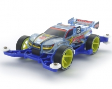 Mini4WD Pro Nitrage Jr. Clear Blue Special MA Chassis 95398