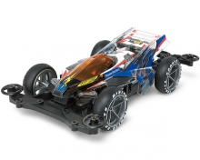 Mini4WD Pro Thunder Shot Mk.II Clear Body MS Chassis 95463