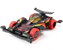 Mini4WD Neo-Tridagger ZMC Carbon Special Super II Chassis 95508