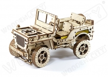 Jeep 4x4 american off-road vehicle- WOODEN.CITY WR309