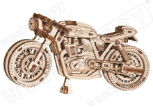 "British motorcycle ""caf� racer"" - WOODEN.CITY WR340"