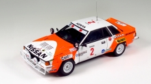 Beemax Nissan 240RS BS110 Gr. B Rally Safari 1984 Kit 1:24 (No.15)