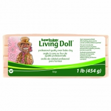 Pasta Modellante Super Sculpey Living Doll 454 Grammi 1589111432