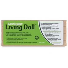 Pasta Modellante Super Sculpey Living Doll 454 Grammi