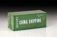 Shipping Container 20 Ft. Italeri 3888 scala 1:24