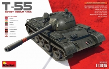 carro armato T-55 SOVIET MEDIUM TANK 1:35 37027 Miniart