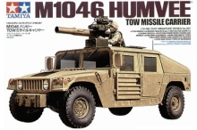 carro armato Tamiya 35267 M1046 Humvee TOW Missile Carrier 1:35