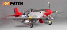 P-51D V.8 Mustang Red Tail PNP 1,45mt FMS008P-RT