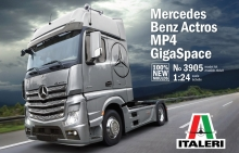 Camion Italeri 3905 Mercedes Benz Actros MP4 Gigaspace 3905 scala 1:24