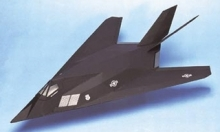west wings F117 Stealth Fighter