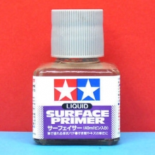 primer Tamiya 40ml Liquid Surface Primer 87075 grigio
