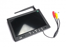 MONITOR 5.8GHz  32CH 7 inch 800x480 LCD FPV Monitor W/Light Shield All bands 32CH
