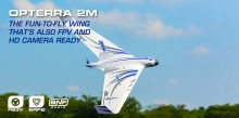 E-Flite Opterra 2m Wing BNF Basic EFL11150 FPV-HD camera ready