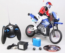 motocross RAPTOREX 1/6 RTR HI628 completa di radio pronta all'uso