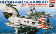 "elicottero CH/HH-46D Sea Knight ""U.S. NAVY Version"" Academy 12207"