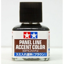 Prime Tamiya 87132 Panel Line Accent Color Brown 40 ml