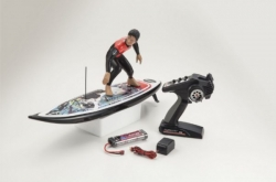 Surf-RC Kyosho RC SURFER 3 readyset completo di radio 2.4GHz