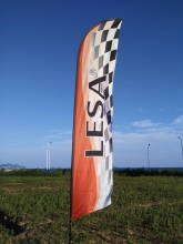 Beach flag gigante 4,5 metri Bandiera FPV race