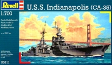 U.S.S. Indianapolis 1:700 Revell 05111